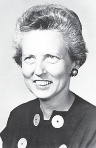 Mary Emma Lewis, faculty member 1954-1982