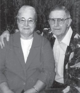 Sterlin and Mertie Caudill of Blair Branch, will celebrate their 65th wedding anniversary on March 1.