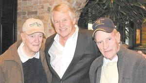 When former Jenkins High and University of Kentucky football standout Phil Greer opened a new Cheddar's Restaurant in Bristol, Va., in late January he was greeted by his former Jenkins Little League football coaches, Joe Bukovich and Wayne Collins. Greer, the CEO of Lexington-based Greer Companies and a native of Letcher County, said the two men, who live in Jenkins, were great inspirations in his life and his career and that he was pleased they drove all the way to Bristol to share in his success. Greer is a 1969 UK graduate.