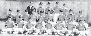 The 1984 Whitesburg High School baseball team was the last team to be coached by Buddy Roe.