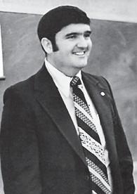 Doyle 'Buddy' Roe, faculty member 1960-1991