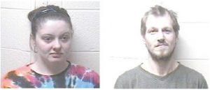 Cheryl Vandyke (left) and Mark Vandyke were being held in the Letcher County Jail on drug trafficking charges.