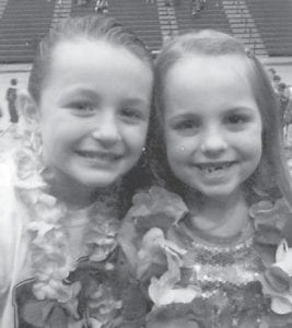 — Cousins Kaylee Banks and Tori Holcomb both have March birthdays. Kaylee, daughter of Greg and Shelley Banks of Premium, turned eight years old March 4. Tori, daughter of Jason and Marsha Holcomb of Whitesburg, will be eight years old on March 9.