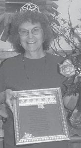 DAR PRINCESS — Shirley June Whitaker was named the Daughters of the American Revolution Pine Mountain Chapter Princess. She had been chapter regent for nine years and has served on DAR state committees.