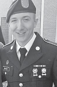 PFC Brandon Baker of Whitesburg, son of Timothy Baker, was graduated from Fort Leonardwood Military Police Academy on March 14. He scored 356 out of a possible 360 and received a medal as an expert in 9 mm and in M4 rifle. He is stationed in Hawaii before going to Afghanistan. He plans to join the Kentucky State Police when he finishes his military service.