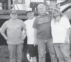 "— The Hatton brothers attended the Bristol races and stayed in Larry Hatton's camper. Astor 'Red', Billy, Rob and Larry said they had a great time as they always do when they are together. Their mother, Whitesburg correspondent Oma Hatton, says, ""I'm glad they are so close. I'm proud of my boys!"""
