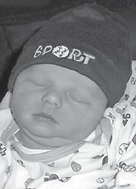 — Christopher Andrew Whitaker was born Feb. 28 at Whitesburg Appalachian Regional Hospital. He is the son of Chris and Brooke Whitaker. His grandparents are George and Cecelia Whitaker of Roxana, Donna and Marion Blair of Whitesburg, and Rickey and Jill Day of Kingscreek. He is the greatgrandson of Ollie Whitaker and Doyle and Merlene Day, all of Roxana, and Betty Quillen of Neon.
