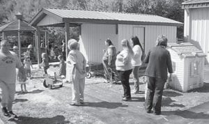 — Jenkins Head Start and Early Head Start celebrated Easter early because of spring break. The Grandparents Appreciation Luncheon and an egg hunt were held. Sixty-two grandparents and several parents attended and the children enjoyed having their grandparents come to school with them.