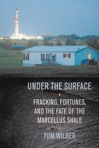"""The book jacket for """"Under the Surface,"""" by Tom Wilber is shown. (AP Photo/Cornell University Press)"""