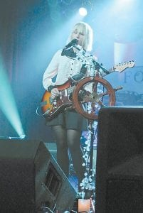The Joy Formidable's Ritzy Bryan performed at The Orange Peel.