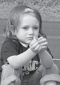 — June Karyn Quillen celebrated her third birthday on February 28. She is the daughter of Brack and Kristin Quillen of Sergent. Her grandparents are Raymond and Sharon Roberts of Thornton, and Herman Quillen of Whitesburg and the late Karen Quillen of Pensacola, Fla. She has an older brother, Mercer, 8.
