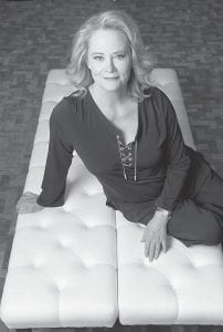 "Actress Cybill Shepherd on the set of ""The Client List."" (AP Photo)"