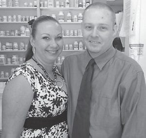 Summer and David Powers of Boggs Pharmacy and Boggs DME in Jenkins are the newest members of the Letcher County Chamber of Commerce. Both are graduates of Jenkins High School. He received a doctorate of pharmacy from the University of Kentucky, and she received an associate of applied science from Lexington Community College and a bachelor of science in radiologic sciences.