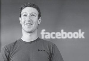"""Facebook CEO Mark Zuckerberg turned 28 on May 14. Zuckerberg's wealth is based on people's """"willingness to surrender their privacy and friends' names to Facebook,"""" writes columnist Froma Harrop. (AP)"""