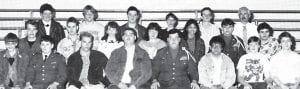 1988-89 WHITSBURG HIGH SCHOOL ACADEMIC TEAM