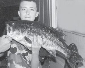 — Pictured above is Hunter Adams, 13, who caught this 11 pound, 6 ounce largemouth bass that was 24 ¼ inches long. His brother Dakota, 16, pictured below, caught this 9 pound, 8 ounce largemouth bass that was 24 inches long. The brothers were fishing at Fishpond Lake for the first time. They are the sons of Olivia Adams of Eolia and Chad Adams of Sergent. Their grandparents are Brenda and Oliver Sexton of Eolia, and Rhonda and Jeff Adams of Sergent.