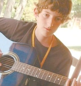 Travis Morton, 17, loved to play music.