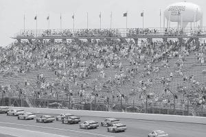 NEXT STOP INDY — The Brickyard 400 at the famous Indianapolis Motor Speedway is next up on NASCAR's Sprint Cup racing schedule. Like other stockcar racing venues, Indy is fighting the plague of empty seats. (AP photo)