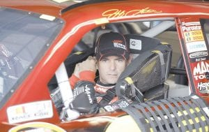 Jeff Gordon was photographed last week preparing for the NASCAR Sprint Cup Series race at Watkins Glen International. (AP Photo)
