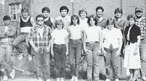 1983-84 WHITESBURG HIGH SCHOOL DRAMA CLASS