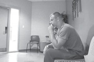 Wes Oetinger started using prescription pills before turning to heroin. He ended up being arrested after breaking into his neighbor's home. He said heroin is much cheaper than pills and gives the same high. You can watch Oetinger tell the story of his downfall in his own words and the growing heroin problem Kentucky is facing by visiting the Courier-Journal's website at http://cjky.it/OjBN4Z. (Photo by Matt Stone, The Courier-Journal)