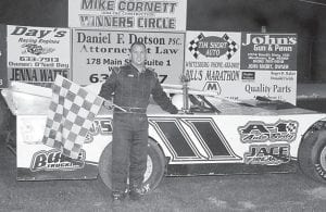 Oscar McCowan was the winner of the 30-lap King of the Hill dirt late model feature race at Lucky Seven Speedway sponsored by Day's Engines, Sexton's Used Cars, Bub's Trucking, Jace Firearms, Waylon's Bodyshop, A-1 Bodyshop, KI Motorsports, and Bill's Marathon.