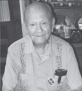 — Vernon R. Goff, former resident of Whitesburg and former manager of the A&P grocery store in Whitesburg, will celebrate his 100th birthday at an open house given by his children on Saturday, Sept. 29, from 11 a.m. to 2 p.m. at the Senior Citizens Center, 329 Broadway St., Jackson. All family and friends of Mr. Goff are welcome. No presents, but birthday cards will be appreciated.