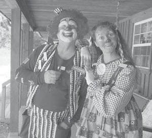The 'Silly Saints', a clown ministry, recently visited ECCO.