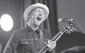 Bear Rinehart led South Carolina-based Needtobreathe during a concert last week at The Orange Peel in Asheville, N.C.