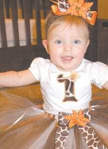 Chloe Rose Wright celebrated her first birthday on August 25 at the Letcher County Recreation Center. She is the daughter of Mark and Ellena Wright of Kona, and the the granddaughter of Robert and Rose Adams of Haymond and Jesse and Esther Wright of Payne Gap. She is the great granddaughter of Jewel King of Cromona.