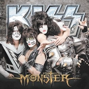 """The cover of """"Monster,"""" the new album by KISS."""