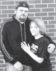 — Teresa Maggard of Neon, announces the engagement of her daughter, Serenna Maggard, also of Neon, to Tyrone Caudill of Premium. He is the son of Mike and Amy Caudill, also of Premium. A January 19, 2013 wedding date is set.