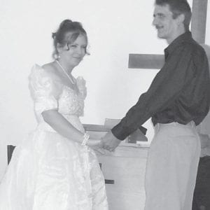 WED — Amanda and Bobby Brock exchanged vows October 17 at the ECCO Chapel.