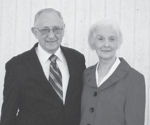 — On Saturday, November 17, Elwood and Kathy Cornett will be honored for their 50th wedding anniversary at the Blair Branch Church in Jeremiah. Dinner will begin at 1 p.m. and the event will last until 3 p.m. No gifts please, cards and well wishes welcomed.