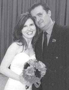 — Patsy Browning and Scott Campbell were married October 31. The bride is the daughter of Zella Browning of Crases Branch and the late Joseph Browning. The bridegroom is the son of Alice Campbell and Freddy Campbell of Linefork.