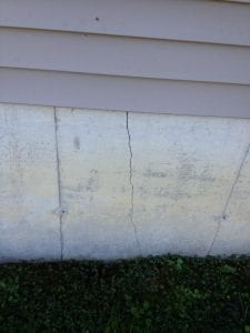 The earthquake damaged the home of Roland Brown in Blackey, where the tremor was centered.