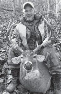 Michael 'Goose' Absher of Whitesburg killed this 8-pointer on Nov. 20.
