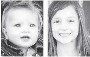 — Finnley Sexton celebrated her first birthday Sept. 22. Her sister, Dalayni, turned seven years old Aug. 31. They are daughters of Traci and Ryan Sexton of Loveland, Colo., formerly of Whitesburg, and have a sister, Kaylee McDougal, 13, of Colorado, and Gavin Sexton, 13, of Payne Gap. Their grandparents are Cheryl Blair and Ivan Blair, Rick Caudill and Jill Sexton, all of Whitesburg.