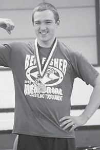 — Hunter Holbrook, son of Sandy and Jody Holbrook, earned a gold medal at the second annual Ben Fisher Memorial Tournament on Saturday, Dec. 8.