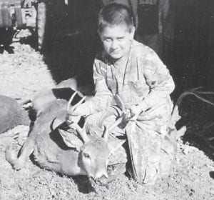 Caleb Cook (top) and Austin Cook (below) each killed a deer near the home of their grandparents, Shirley and Daniel Cook. Caleb, the son of Christopher and Katrina Cook, got an 8-point deer, and Austin, the son of Michael and Melinda Cook, got an 11-point deer. Both boys are nine years old.
