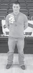 The Letcher County Central High School wrestling team participated in the Bobby Bates Classic at the University of Virginia's College at Wise on Dec. 14 and 15. Twenty-four teams from three states competed. Roger Heiston, from the 220-pound weight class, medaled at the event. Only the top eight from each weight class are recognized. The LCCHS wrestling team will compete at the Freedom Classic hosted by Perry County Central on Dec. 22.
