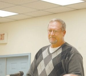 Mike Harris ended his fourth term on the Letcher County Board of Education this week, having served 16 years.
