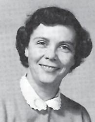 1958 WHS faculty member Betty Jo Little