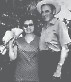 Pictured are Myrel Brown (member of the Class of 1935) and his wife Virginia Gibson Brown (member of the Class of 1936) while on a vacation in the Bahamas in May, 1971.