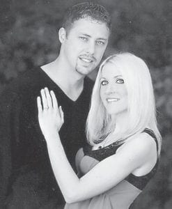 — Mr. and Mrs. Greg and Stephanie Addington of Whitesburg announce the engagement of their daughter, Candice Danielle Addington, to Jason Robert Eldridge, son of David and Marsha Eldridge of Cumberland. He is employed as an electrician at Cumberland River Coal Company. The wedding will take place on Saturday, January 26, at 3 p.m. at the Benham United Methodist Church in Benham. A reception at the Benham Schoolhouse Inn will immediately follow. The couple plan to honeymoon in Gatlinburg, Tenn. They will reside in Cumberland.