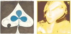 """At left is an image of the cover of Grizzly Bear's album """"Shields,"""" while Ty Segall's """"Twins"""" album cover is seen at right. Both are must-hear releases overlooked on most """"best of"""" lists. (AP photos)"""