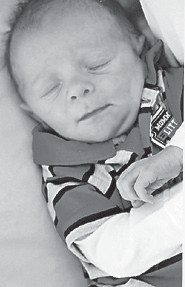 — Keaston DeWayne Williams was born September 28 to Kevin Williams and Crystal Dixon at Whitesburg Appalachian Regional Hospital. His grandparents are Donnie and Jackie Dixon of Hallie, Wanda Webb of Defeated Creek, and Floyd Williams of Hazard.