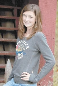 Brooke McKee Saurer, a seventh grader at Whitesburg Middle School, will compete in the Letcher County Spelling Bee on Feb. 8. She has been a school spelling bee winner four times, and participated in the Kentucky Derby Spelling Bee twice. She is working to represent Letcher County for the third time in state competition in Louisville. She is the daughter of James and Valerie Saurer of Partridge.