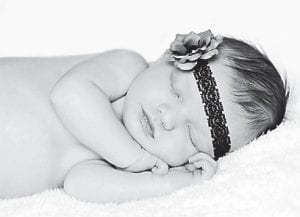 — Corinne Danielle Reed was born December 7 at Whitesburg ARH. She is a daughter of Tony and Amber Reed of Burdine, and baby sister of Cooper Elijah. Her grandparents are Thomas and Wilma Reed of Benham and Bobby L. and Teresa Fleming of Burdine.