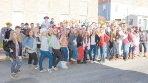 The Whitesburg Middle School UNITE Club was recently named a regional UNITE Club of the Year. The group sang Christmas carols in downtown Whitesburg in December. Debi Sexton is the club sponsor.